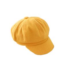 Dziecięca czapka zimowa z daszkiem Beret czapka z daszkiem czapka z daszkiem czapka z daszkiem malarz ośmioboczna tanie tanio CN (pochodzenie) Ośmioboczna Kapelusze Stałe Dziewczyny COTTON