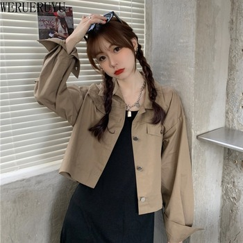 New 2020 Jeans Jacket and Coats for Women  Autumn  Casual Short winter clothes women