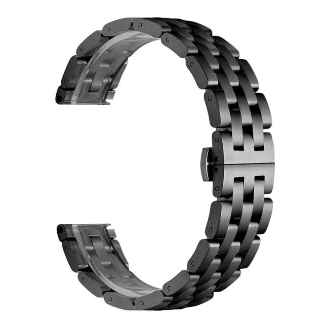 Купить ремешок из нержавеющей стали для часов fossil q explorist hr
