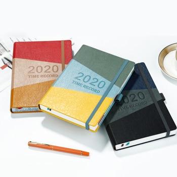 цена 2020 A5Portable Students School Stationery Writing Notebook Business Travel Diary Journal Planner Agenda DIY Birthday Gift онлайн в 2017 году