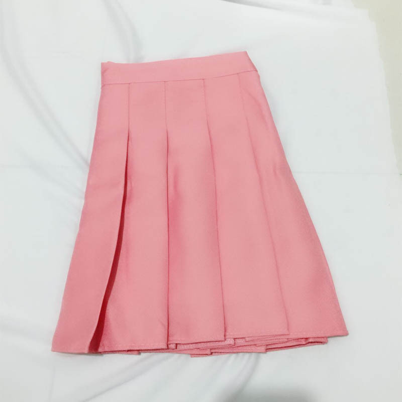QRWR XS-3XL Plaid Summer Women Skirt 2020 High Waist Stitching Student Pleated Skirts Women Cute Sweet Girls Dance Mini Skirt