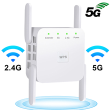Wifi Router Repeater Amplifier Fi-Booster Signal-Repiter 5ghz Long-Range
