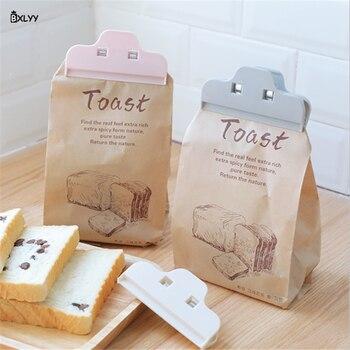 Clip de sellado para bolsa de comida, accesorios de cocina, Clip de sellado a prueba de humedad para la cocina, para una comodidad, Gadgets.8 3 unidades