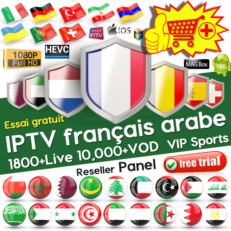QHDTV 1 Year IPTV Arabic Belgium Netherlands for M3u Android Mag Enigma2 IP TV QHDTV Turkey German IPTV France Arabic Spain-in Set-top Boxes from Consumer Electronics