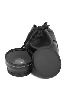 Image 1 - 0.45x 49mm  Wide Angle Macro Lens Wide Angle Camera Lens For Canon EOS Nikon For Sony Lens Accessories