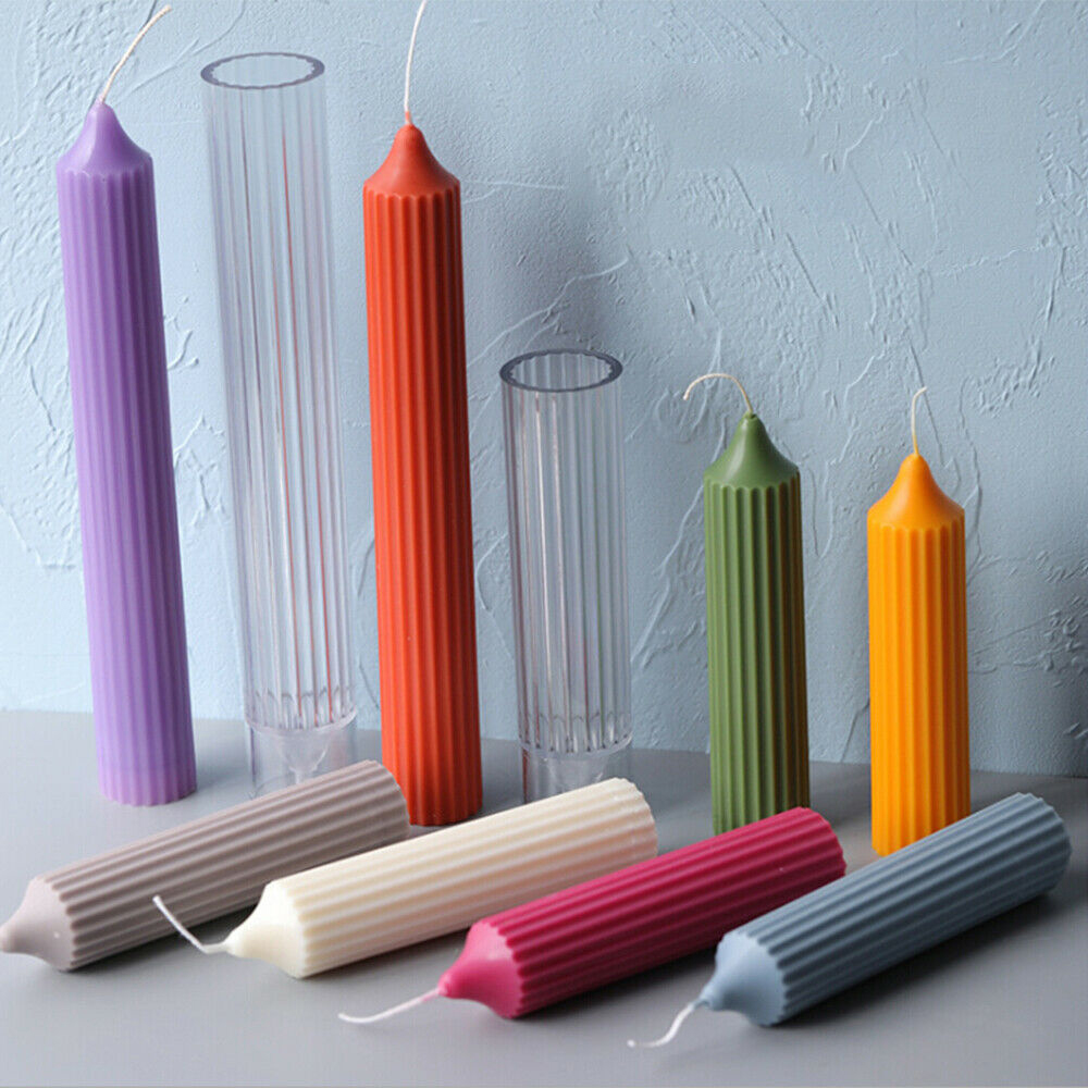 DIY Handmade Candle Making Model Candle Mould Crafts Candle Making Molds Rod Shaped Candle Mould maker
