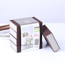 1/4 pcs  Sponge Magic Eraser for Removing Rust Cleaning Cotton Kitchen Gadgets Accessories Descaling Clean Rub Pot Kitchen Tools