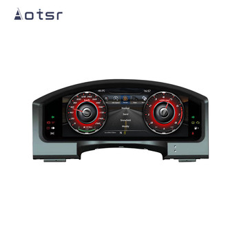 """12.3"""" Android 7.1 Car LCD instrument dashboard screen GPS Navigation For Toyota Land Cruiser 2012-2019 Multimedia player"""
