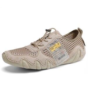 Image 3 - Туфли мужские из натуральной кожи, повседневные Мокасины, удобная обувь на плоской подошве, большие размеры 46