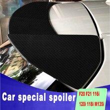 New F20 F21 116i 120i 118i M135i 2012 to up high quality carbon fiber color ABS spoiler for BMW F20 F21 116i 120i 118i M135i 13537589048 fuel injector for b mw 1 3 series 318i 320i 116i 118i 120i 320i n43 petrol injector 7565137