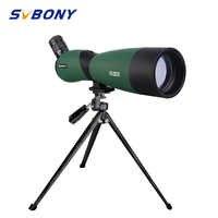 SVBONY SV403 Zoom 20-60X60/25-75x70mm Spektiv Multi-Beschichtete Optik Monocular-teleskop für vogelbeobachtung w/Tisch Stativ
