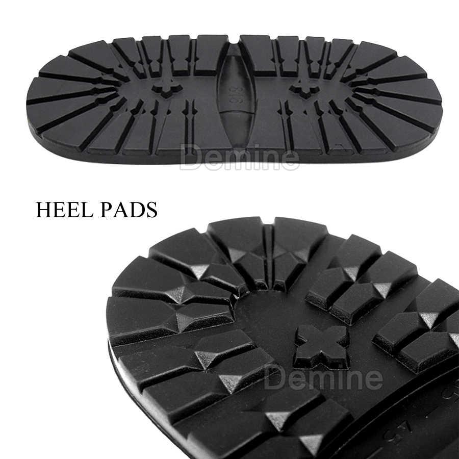 Demine Dikke Rubber Buitenzolen Binnenzool Anti-Slip Business Schoenen Laarzen Plakken Bodem Voor Mannen En Vrouwen Van Toepassing Diy Vervanging zool