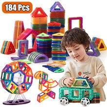 Blocos magnéticos designer magnético construção construção brinquedos conjunto ímã brinquedos educativos para crianças presente das crianças