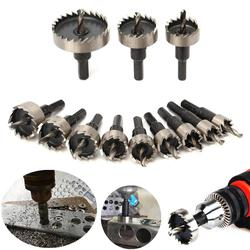 1pcs M35 12mm-65mm Carbide Tip HSS Hole Saw Drill Bit for Metal / Alloy / Iron / Stainless Steel Cutting Drilling Hole Opener