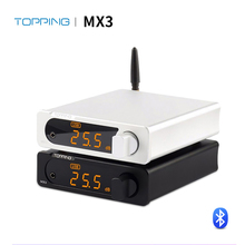 TOPPING MX3 USB DAC аудио усилитель Hifi Bluetooth DAC Amp PCM5102A цифровой усилитель Bluetooth с выходом усилителя для наушников
