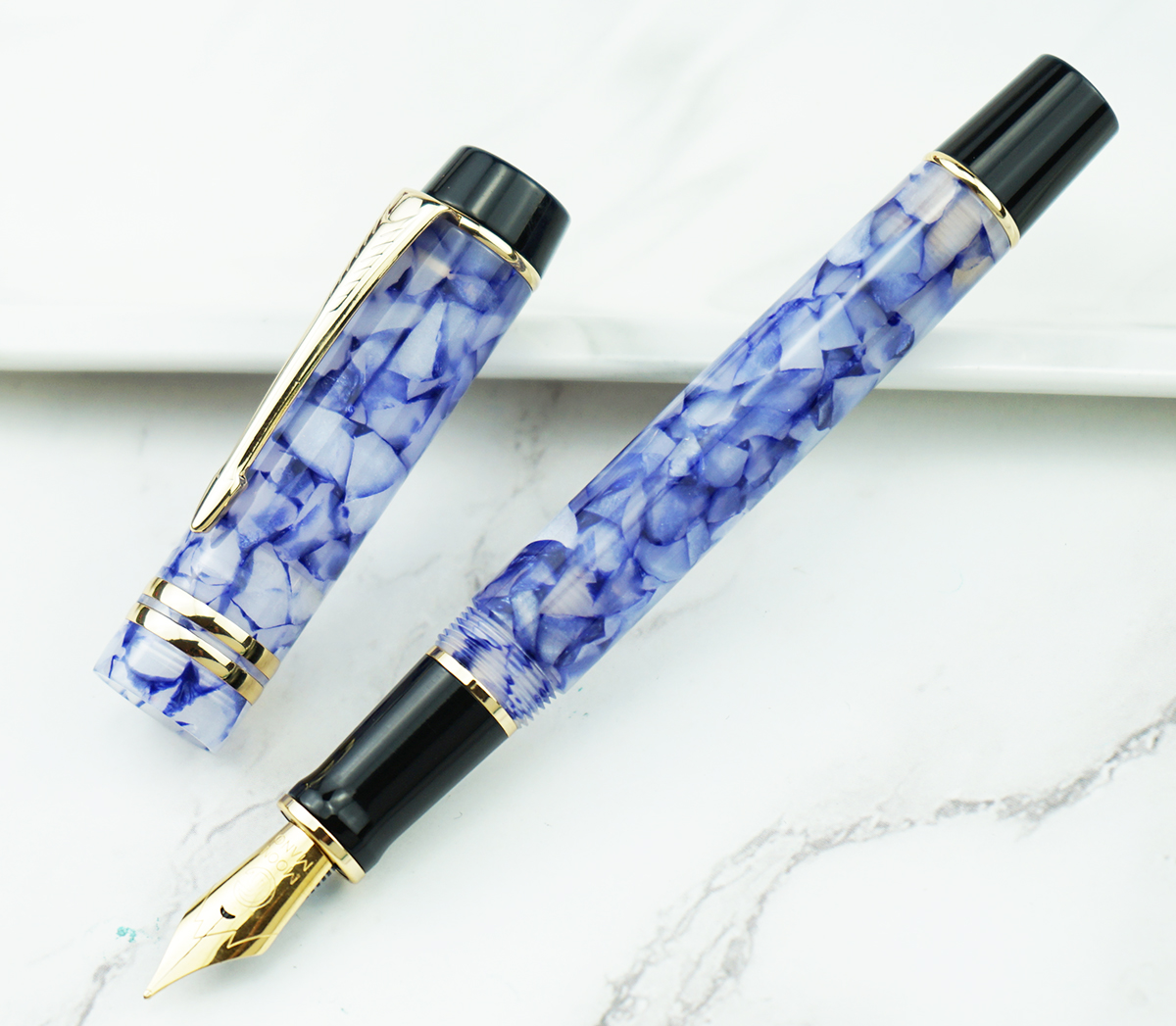 New Color MOONMAN M600S Celluloid Fountain Pen EF/F/M/Bent Nib With Converter Quality Fashion Office Business Writing Gift Pen