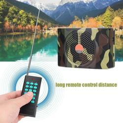 Nuevos señuelos pájaro llamador Mp3 altavoz control remoto Kit 38W portátil caza sonido llamador amplificador enseñanza sonido pájaro Mp3New