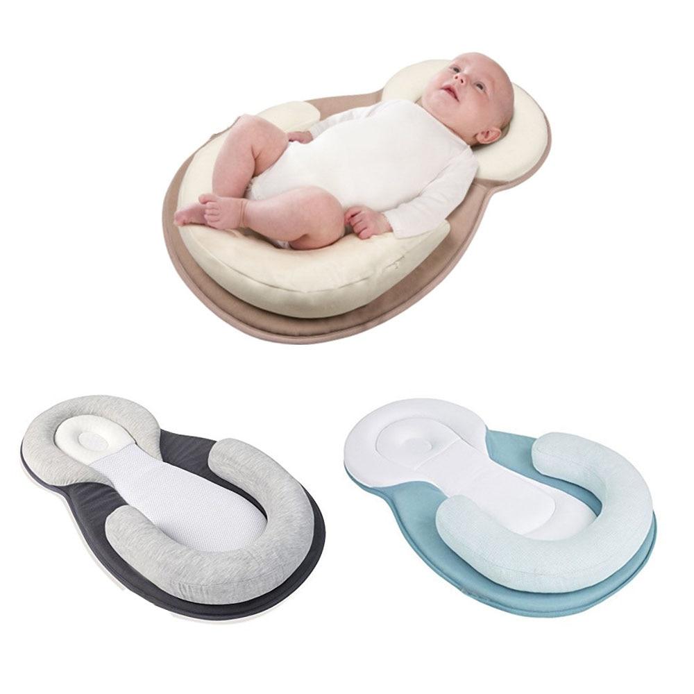 Portable Cradle Baby Nest Soft Cotton Nursery Babynest Folding Montessori Bed For Kids Newborns Safety Travel Washable Baby Bed