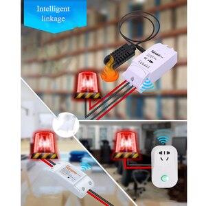 Image 5 - Sonoff TH10/16A スマート無線 lan スイッチ監視ワイヤレスプローブ温度湿度センサースイッチ無線 lan スマートホームリモコン