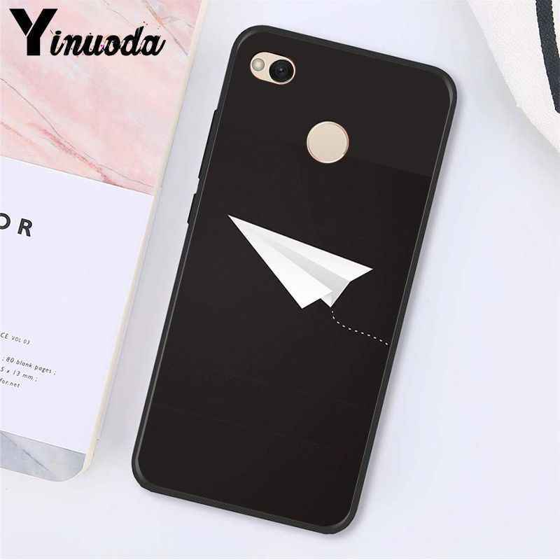 Yinuoda Pesawat Pesawat Terbang Perjalanan Awan Pesawat Phone Case untuk Xiaomi MI5 6 A1 A2 Lite Mi9 9SE Mi8lite 8explorer Pocophone F1