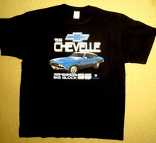 T-Shirt Chevy - 69 Chevelle Big Block SS Classic Car - Chevrolet NEU(China)