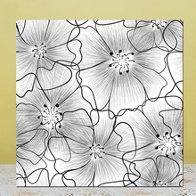 zhuoang flower clear stamps silicone transparent seals for diy scrapbooking photo album clear stamps ZhuoAng Pattern Clear Stamps/Silicone Transparent Seals for DIY scrapbooking photo album Clear Stamps