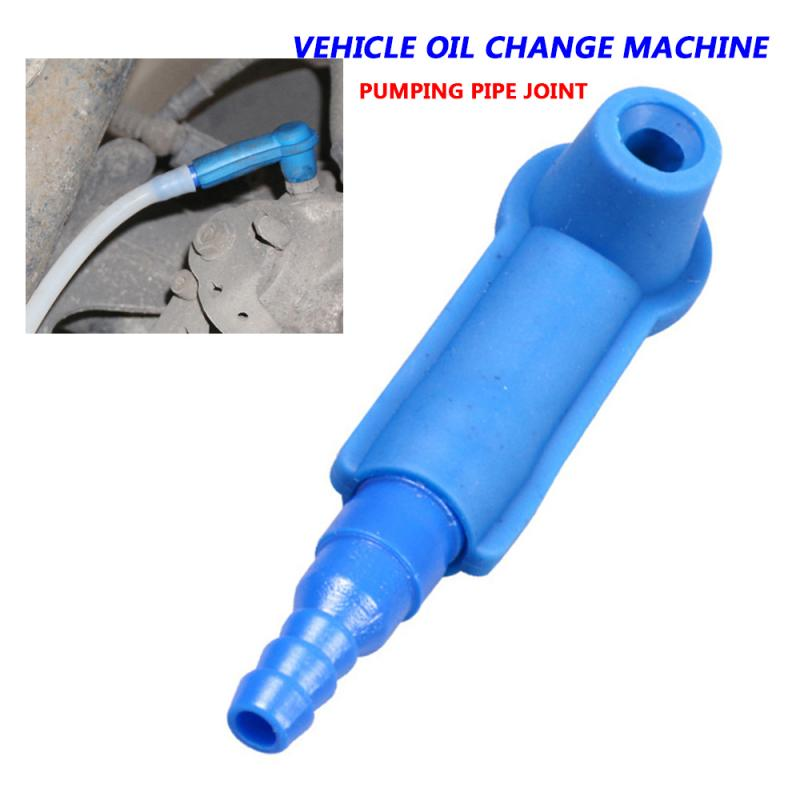 1Pc Brake Oil Changer Oil And Air Quick Exchange Tool Sucker Pipe Connector For Cars Trucks Construction Vehicles Car Accessory