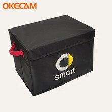 Mala do carro organizador de armazenamento portátil saco de armazenamento de carro para smart forfour fortwo cabrio city coupe crossblade 450 451 452 453 454