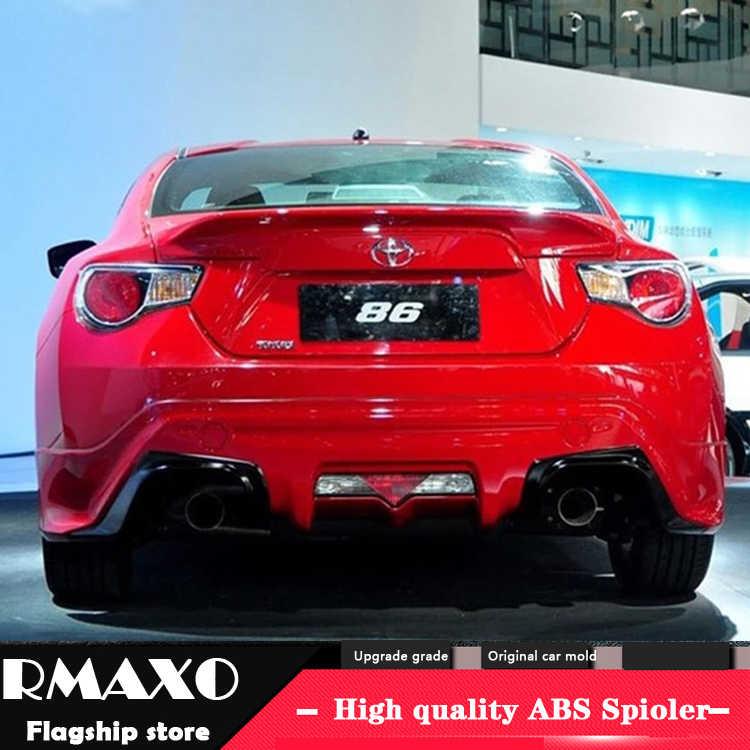 Subura ため brz GT86 スポイラー 2012-2015 subura brz 高品質の abs 材料車のプライマー色リアスポイラー