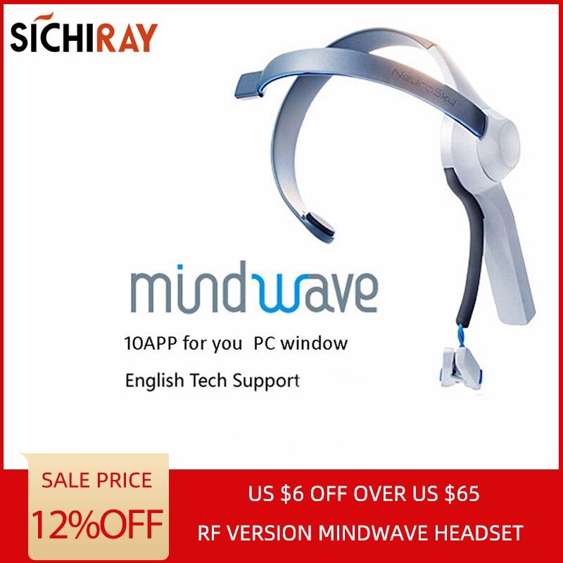 2019 Venda Quente Mindwave Fone De Ouvido Internacional Rf Versão Seca Eletrodo Eeg Atenção E Meditação Controlador Neurofeedback