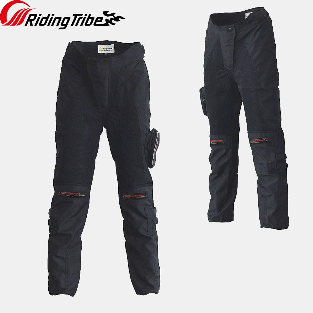 Motorcycle Riding Protection Pants Summer Winter Motocross Anticollision Breathable Wearable Spring Summer With Kneepads HP-02