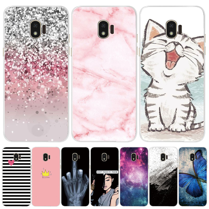 TPU Phone Cases for <font><b>samsung</b></font> <font><b>J2</b></font> <font><b>2018</b></font> case Slicone Fashion back cover for <font><b>Samsung</b></font> <font><b>Galaxy</b></font> <font><b>j2</b></font> <font><b>2018</b></font> <font><b>SM</b></font>-<font><b>J250F</b></font> case New design flower image