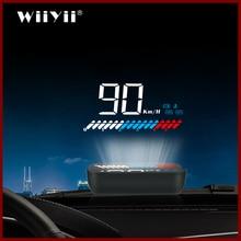 GEYIREN présentoir tête de voiture, double système GPS, OBD2, Overspeed, obd2, hud