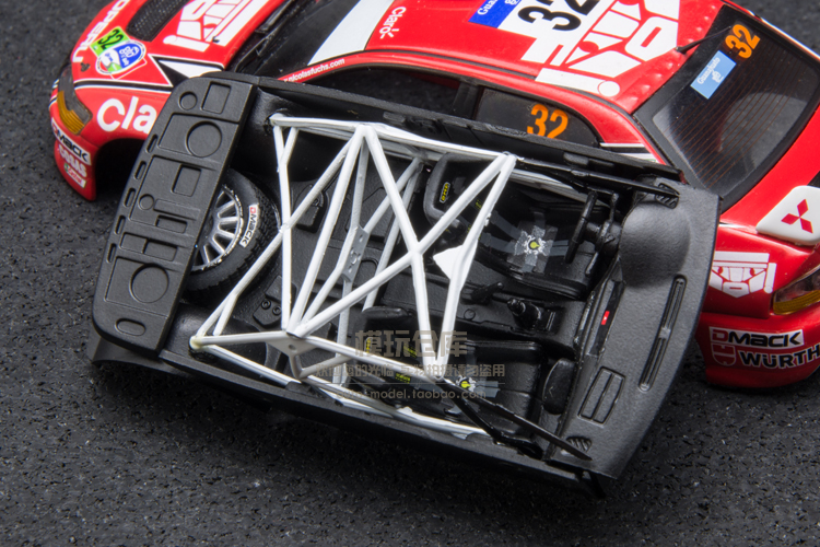 1:43 modelo de carro de rally no 32