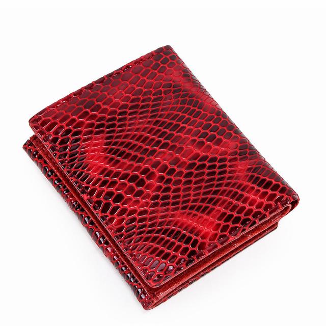 Women's RFID Blocking Genuine Leather Wallet