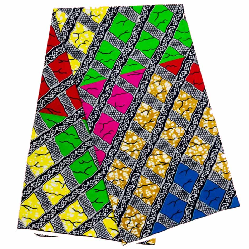 Wholesale Price High Quality African Prints Fabric 2020 Ankara Wax Real Wax Nigerian Wax 6 Yards/pcs 100% Cotton