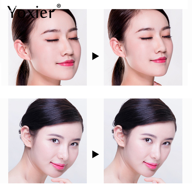 Yoxier Waterproof V Face Makeup Adhesive Tape Invisible Breathable Lift Face Sticker Lifting Tighten Chin 40pcs 1