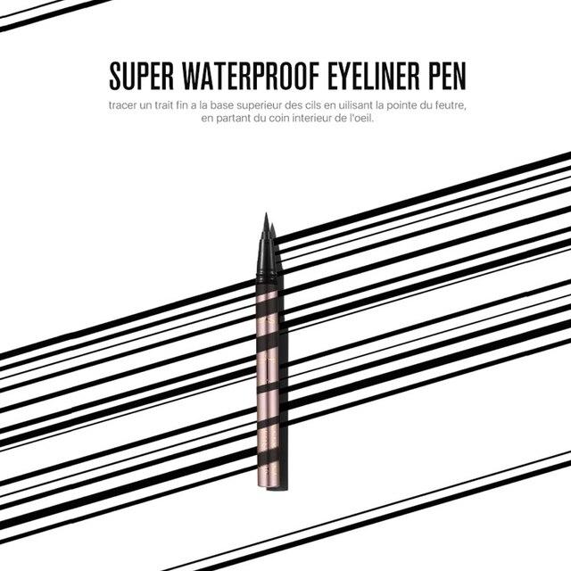 O.TWO.O 3pcs Eyes Makeup Set Ultra Fine 1.5mm Eyebrow Lengthening Mascara Long Lasting Waterproof Eyeliner Cosmetic Kit 2