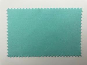 Image 2 - 200 stücke 10*7cm Silber Polnischen Tuch für silber Goldene Schmuck Reiniger Blau Rosa Grün farben option Beste qualität