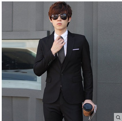 New Style Men'S Wear MEN'S Suit Men's Business Marriage MEN'S Suit Set Three-piece Set Wedding Formal Dress Best Man