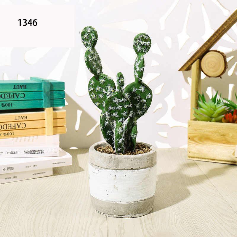 1 stücke Künstliche Pflanzen Lebendige Kaktus shop fenster tisch Dekoration Künstliche Blume Hochzeit/Party/Schlafzimmer/Büro Dekorationen