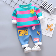 Autumn Winter Infant Clothes Suits Baby Girls Boys Clothing