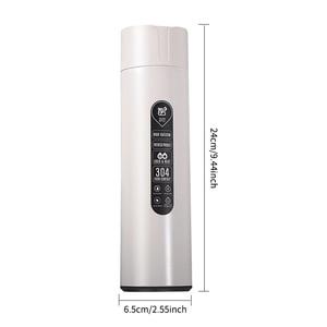 Image 3 - Rvs Mok Geïsoleerde Tumbler met Deksel Slimme Digitale Display Geïsoleerde Thermoskan Fles Water Houden Koude & Hot