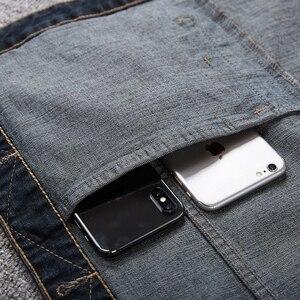 Image 3 - Plus ขนาด 8XL 7XL 6XL 5XLCotton กางเกงยีนส์เสื้อกั๊กเสื้อแขนกุดผู้ชาย Denim กางเกงยีนส์เสื้อกั๊กคาวบอยชายกลางแจ้ง Waistcoat บุรุษแจ็คเก็ต