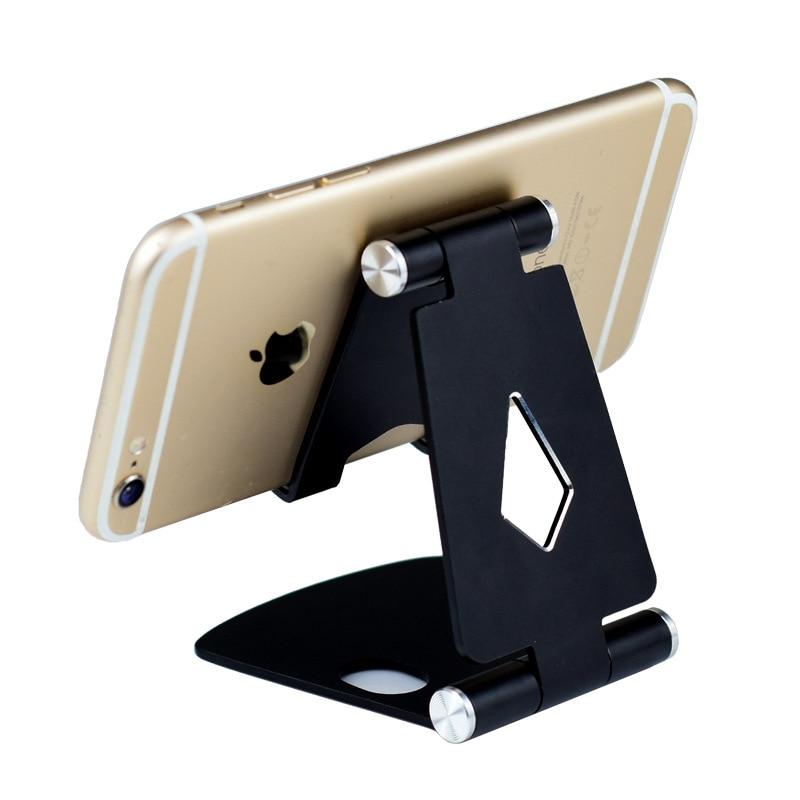 Aluminum Alloy Metal Holder For Phone Stand Handy Tablet Holder Multipurpose Foldable Mobile Phone Bracket Mobile Support