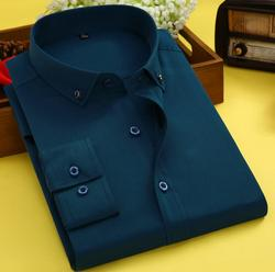 Летняя новая рубашка с длинными рукавами, Мужская однотонная деловая рубашка белого и зеленого цвета, мужская хлопковая рубашка, KNT33-01-32