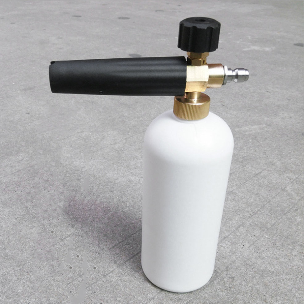 Professional And Efficient High Pressure Water Pipe Gun Foam Sprayer Nozzle Dispenser For Car Cleaner Household