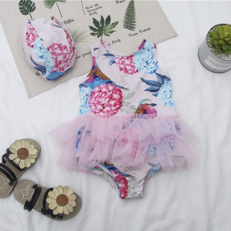 Micro For 2019 Summer Hot Selling Ballet Tulle Skirt Girls Sweet Cute Dress-Bathing Suit Wf266