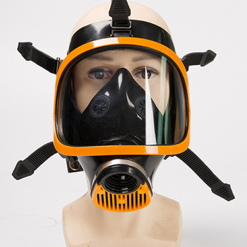 Full-face Gas Mask Military Respirator Silicone Body Full PC Large Screen Industrial Work Safety Painting Pesticide Spraying high quality respirator gas mask modular strengthen protection protective mask painting pesticide industrial safety gasmaske