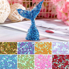 9Colors DIY Handmade Love Heart Sequin Crystal Epoxy Jewelry Accessories Resin Filler Sewing Paillette Loose Sequins